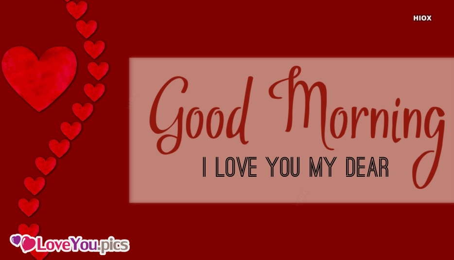 Good Morning Wife I Love You