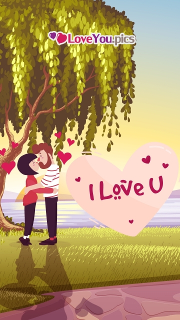 I Love U Pic With Kiss Hd