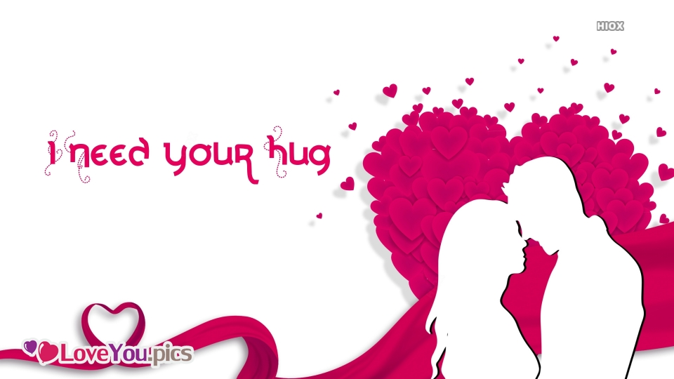 I Love U Pic With Hug