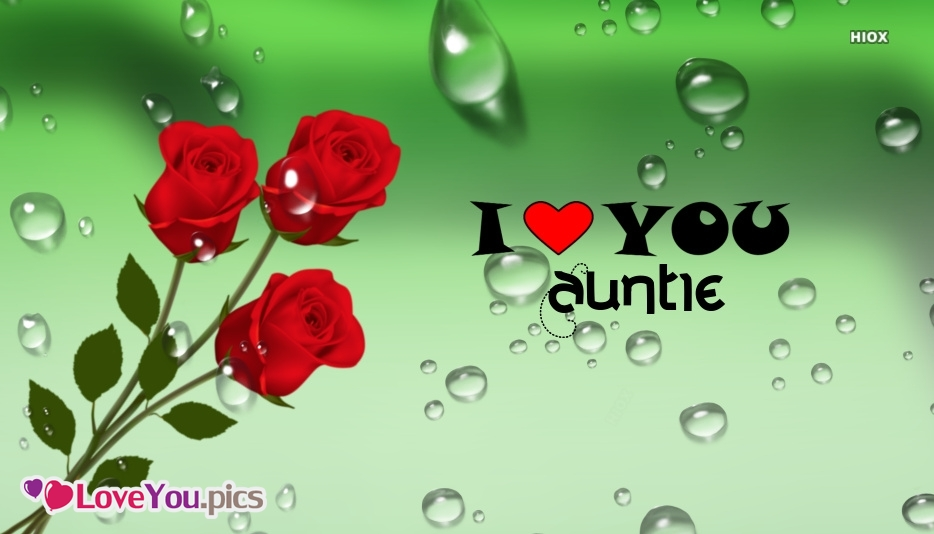 I Love You Auntie Image