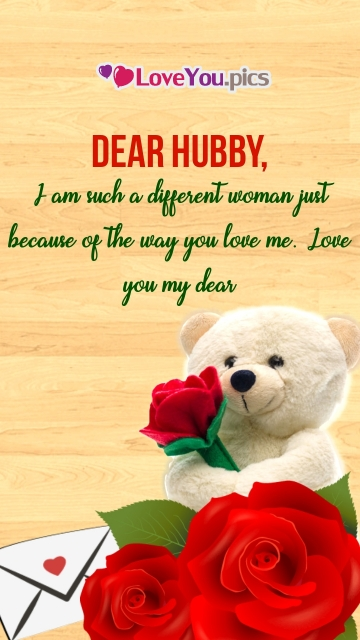 I Love You Dear Husband Quotes