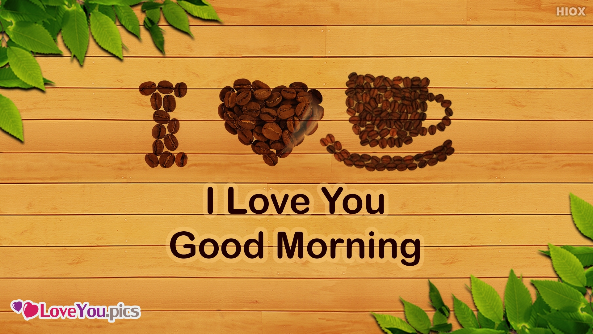 I Love You Good Morning Photo Download