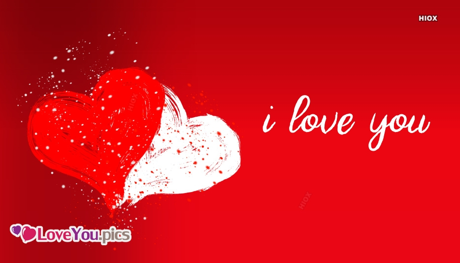 I Love You With Heart Pictures