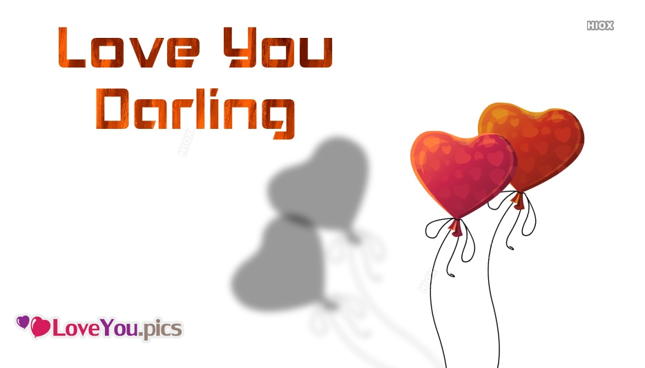 Love You Darling Images