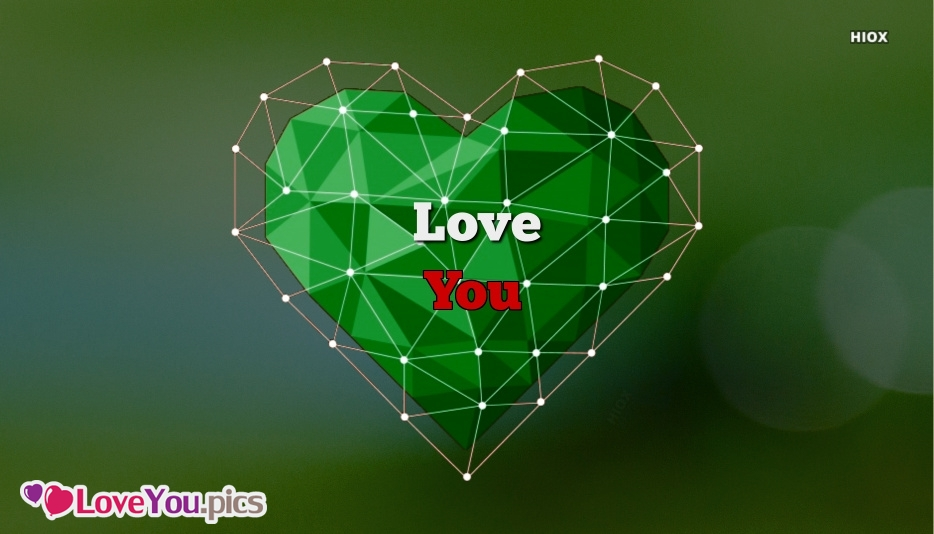 Love You Heart Wallpaper 3d