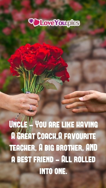 Love You Quotes For Uncle