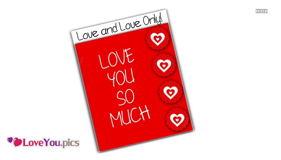 Love You So Much Gif