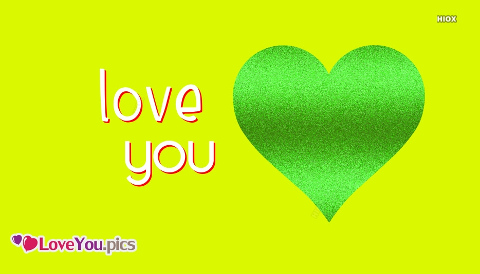 Love You With Heart Images
