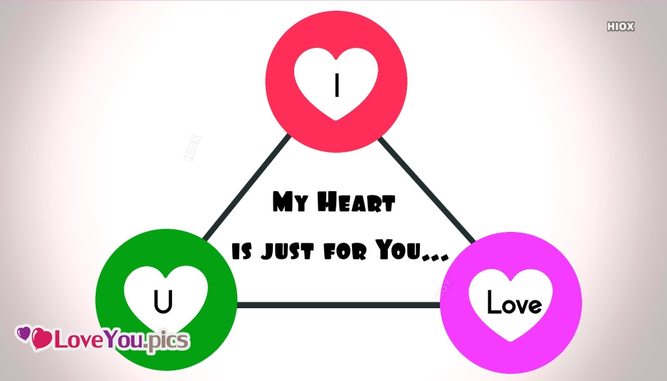 My Heart Just For You