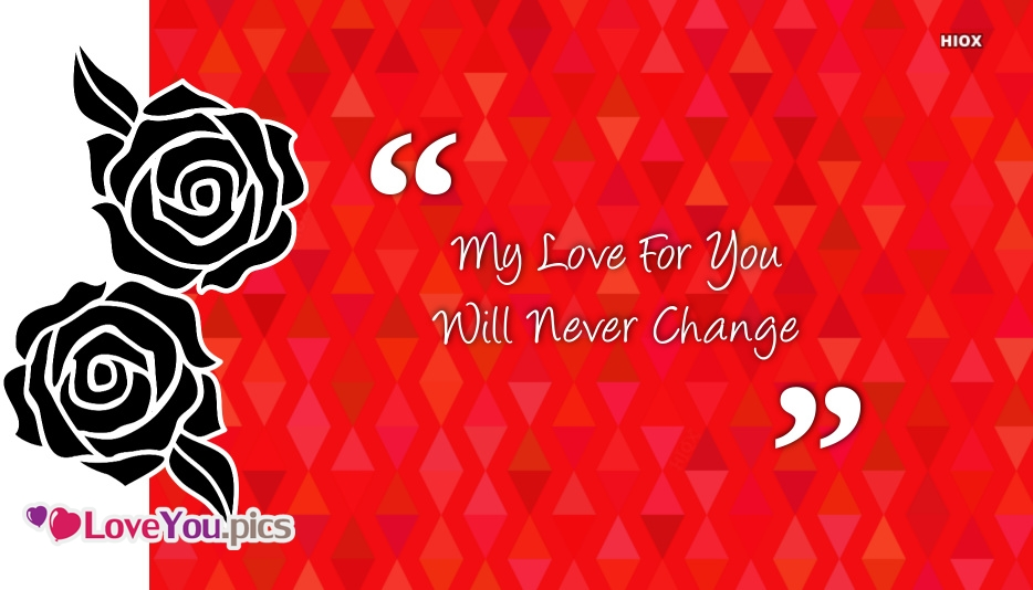 Love You forever Love Feeling Quote Image