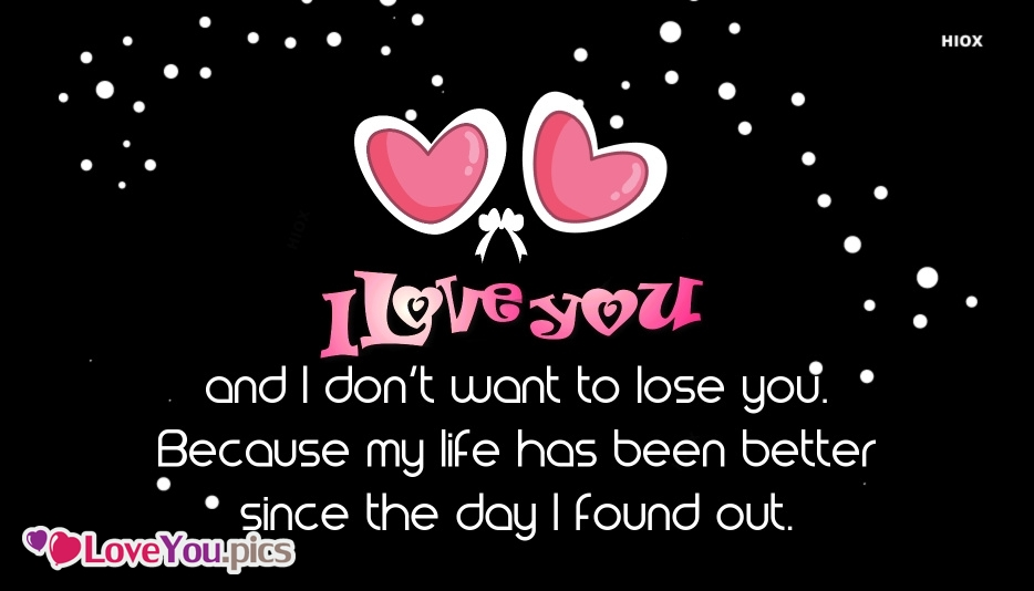 My Love Only For U Quote