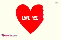 I Love You In Heart