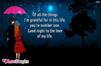 Good Night Darling Love Quotes