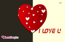 I Love You With Heart Pic