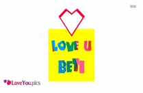 I Love You Beti Image