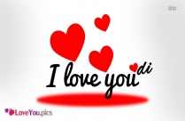 I Love You Dp Image