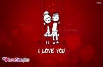 I Love You In English