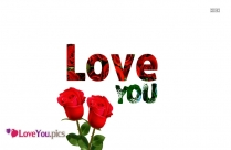 I Love You In Rose