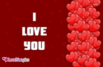 I Love You In Words