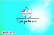 I Am In Love Message