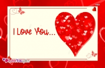 I Love You With Heart Images