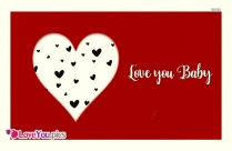 Love You Baby Images