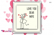 Love You Dear Wife
