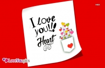 Love You Heart Gif