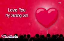 Love You Image For Girlfriend