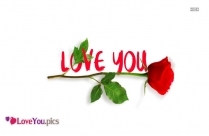 I Love You Flower Images