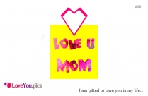 Love You Mom Images