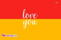 Love You Pic Download