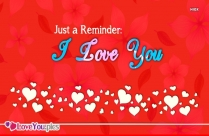 Love You Quote Image
