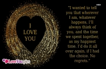Love You Romantic Quotes