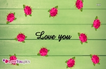 Love You Rose Image