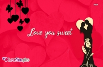 Love You Sweety Images