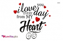 Love You With All My Heart Images
