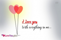 Love You With Everything In Me