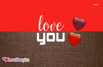 Beautiful Love You Image With Heart