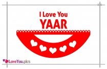 Love You Yaar Image