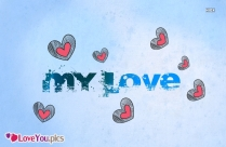 I Love You Gif Photo