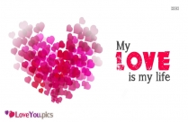 My Love Is My Life