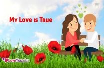 My Love Love Feeling Quote Picture