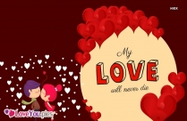 My Love You Are Amazing