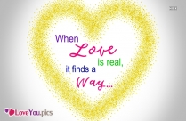 Romantic Love Quote Image